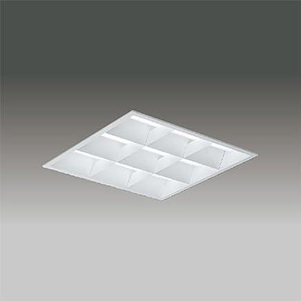 東芝 LEDベースライト TENQOOスクエア LEDバータイプ FHP32形×3灯用省電力タイプ 白色 埋込形 バッフルタイプ 埋込穴□450mm AC100V~242V LEKR741452W-LD9
