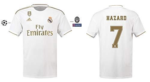 Real Madrid Trikot Kinder 2019-2020 Home UCL - Hazard 7 (152)