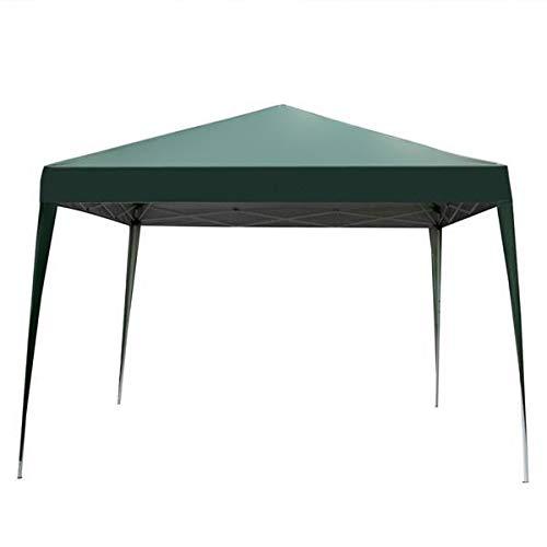 Ai-lir Event Zelt 3x3m grün korrekter Winkel Falten Verschütten ohne Tuch