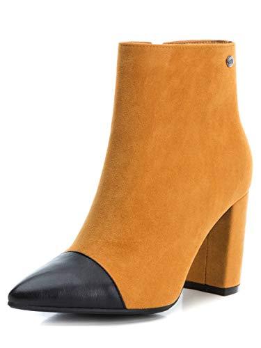 XTI 35101, Botines Mujer, Amarillo (Amarillo Amarillo), 39 EU