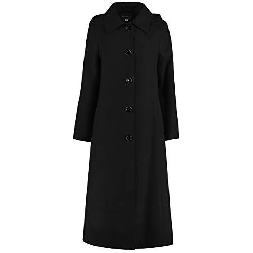 De La Creme - Womens lange afneembare capuchon winterjas