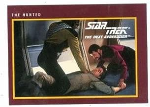 Star Trek The Next Generation card #196 The Hunted Riker Worf
