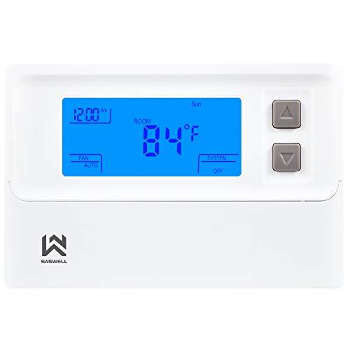 Non-programmable Thermostat, Heat Pump Thermostat 24 Volt