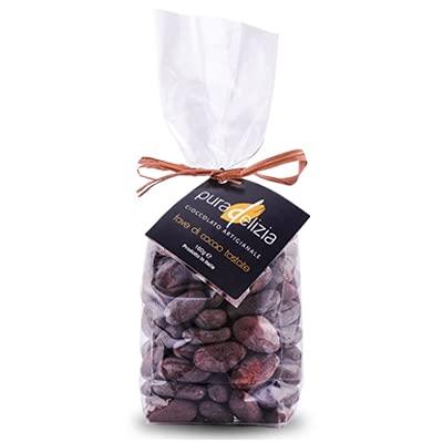 Fave di cacao tostato Repubblica Dominicana 160gr | Pura Delizia | Fava di cacao | Fave di cacao Tostate | Grue di Cacao | Semi di Cacao | Box regalo | Confezioni Regalo | Cioccolato
