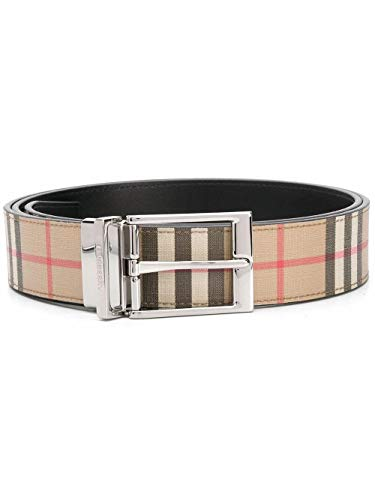 Luxury Fashion | Burberry Heren 8025138 Beige Leer Riemen | Lente-zomer 20