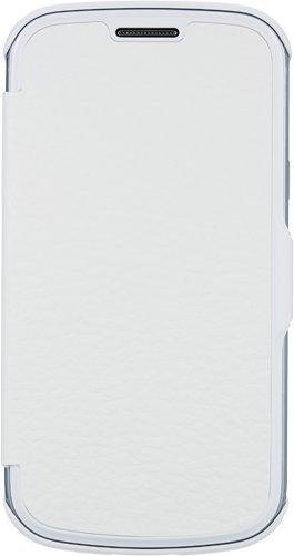 BLUEWAY - Funda con Tapa para Samsung Galaxy Trend Lite S7390, Color Blanco