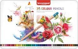 Bruynzeel 72 teiliges Malstifte Set, mit Aquarellstiften, Graphite und Buntstiften