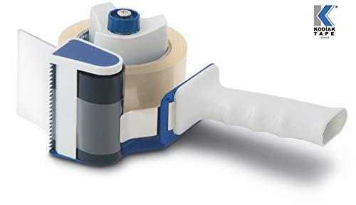 Handabroller Packbandabroller Packband Klebebandabroller Paketroller Paketabroller für 75mm breite Rollen