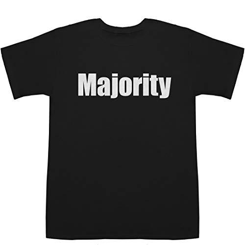 Majority マジョリティ T-shirts ブラック XS【マジョリティリポート】【マジョリティ 意味】