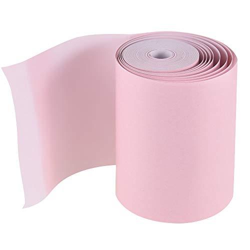Gesh Rollo de papel térmico 57 x 30 mm para impresora térmica de bolsillo PeriPage A6 para impresora fotográfica PAPERANG P1, color rosa