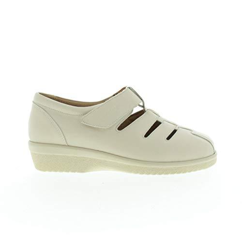 Ganter Damenschuhe Sandalen Geschlossen Creme 2047371200 (Numeric_35)