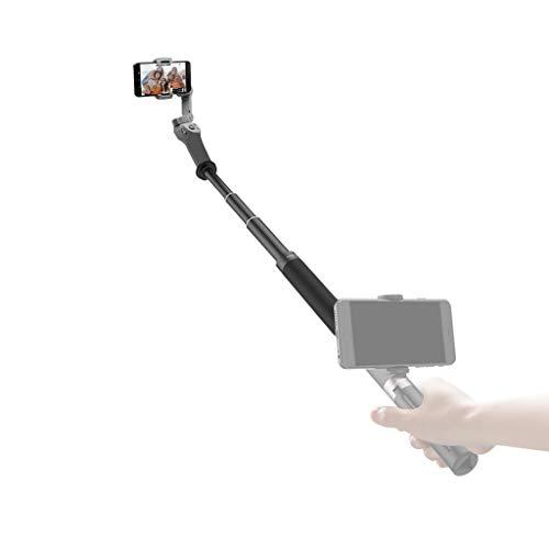Xbeast Verlängerungsstick Kompatibel mit DJI OSMO Mobile 3 Selfie Hand Grip Gimbal Extension Stick Pole Accessories Aluminiumlegierung