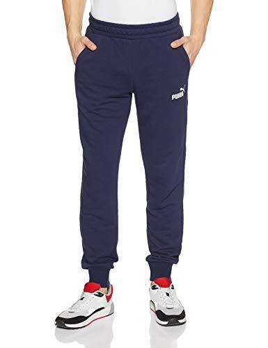 PUMA Herren ESS Logo Pants TR cl Hose, Peacoat, L