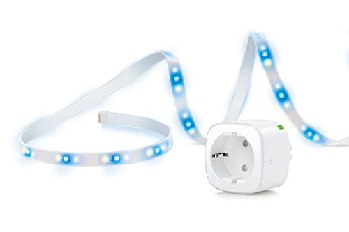 Eve Movie Night - Smarter LED-Lichtstreifen Eve Light Strip (1800 Lumen) & smarte Steckdose Eve Energy für die perfekte Kino-Atmosphäre zu Hause (Apple HomeKit)