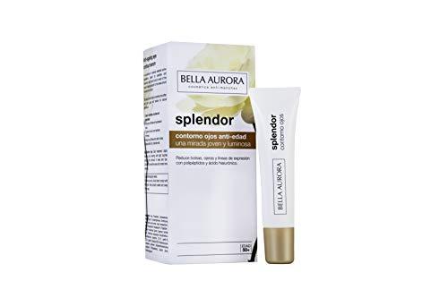 Bella Aurora Splendor Crema Contorno de Ojos Anti-Arrugas Tratamiento Anti-Edad para Mujer Día y Noche, 15 ml (4094602)