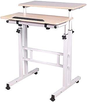 Mind Reader Multipurpose Home Office Sit and Stand Workstation Desk