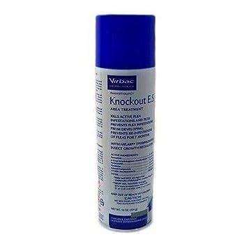 Dog Supplies Virbac Knockout E.S Area Treatment Spray  16 Ounce
