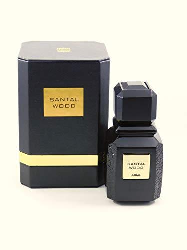 Ajmal Santal Wood 100ml/3.4oz Eau De Parfum Spray Unisex EDP Perfume Fragrance