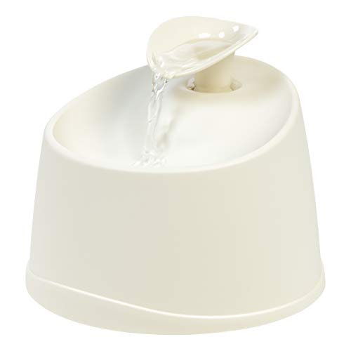 IRIS USA Pet Water Fountain for Cats & Dogs, PEF-01, White, Model:587290