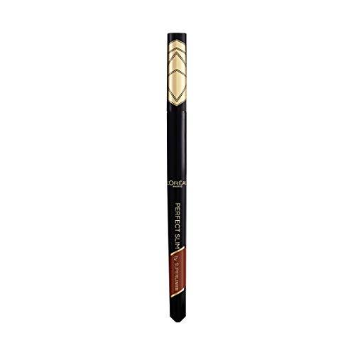 L Oréal Paris Eyeliner in Penna Superliner Perfect Slim, Tratto Preciso, Tenuta Fino a 24H, Colore: Brown (03)