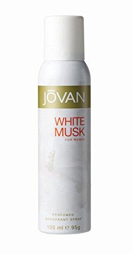 Jovan Deodorant Spray for Women, White Musk, 5 Ounce