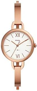 Fossil Women's Analogue Quartz Watch with Leather Strap
