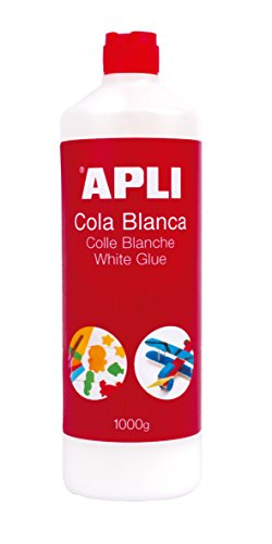 APLI 12851 - Cola, 1.000 g, color blanco