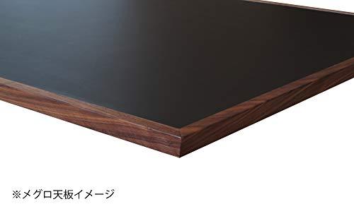 ニッポネアダイニングテーブルウォールナット幅180cmメグロスチール脚Bタイプ国産244622