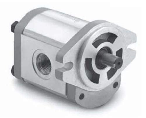 CHIEF Gear Pumps (5/8'' Diameter Keyed Shaft): 0.36 CID, 3.12 @ 2000 RPM, 3600 Max RPM, 3626 PSI, SAE-12 Inlet Ports, 2-Bolt A Mounting, SAE-10 Outlet Ports, CW Rotation, 252431
