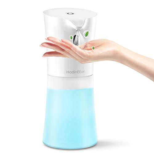HadinEEon Dispenser Sapone Automatico,500ML Dispenser Spray per Nebulizzazione di Alcol Automatico Touchless Spray Igienizzante Alcool Erogatore Sapone Automatico Dispenser per Scuola, Ospedale, Casa