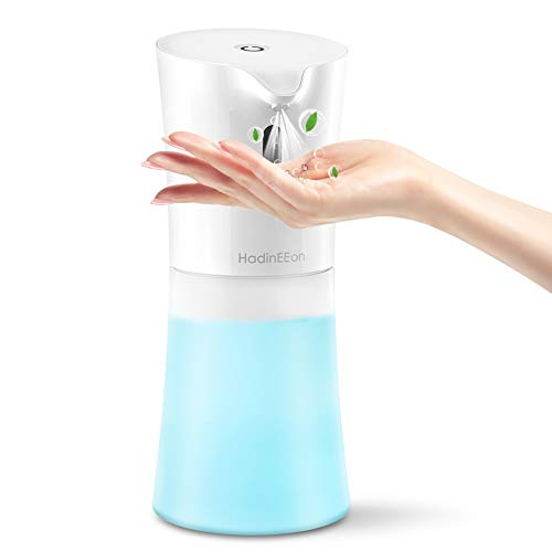 HadinEEon Automatisch Desinfektionsspender, 500 ml Desinfektionsmittel Sensor Alcohol Sprayer Infrarot Alkohol Spender No Touch Spender Desinfektionsmittelspender Automatisch für Hause, Büro