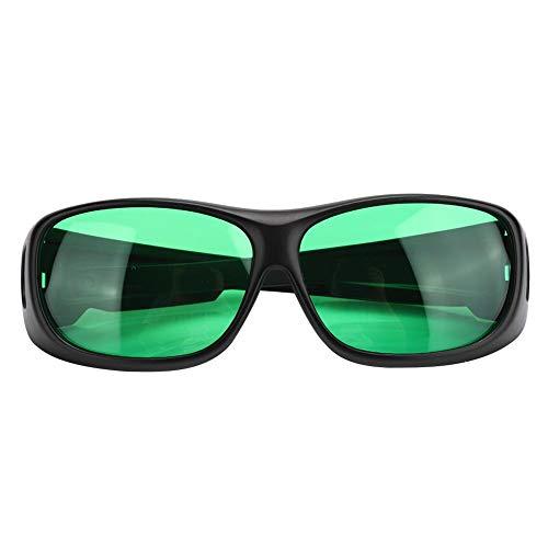 Gafas anti UV Crecimiento de gafas Bloquea todos los rayos UVA y UVB, para carpa Invernadero Planta hidropónica Luz segura para los ojos