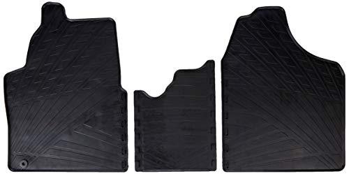 Gledring Set tapis de caoutchouc compatible avec Citroen Jumpy / Peugeot Expert / Fiat Scudo 2007-2016 (TK profil 3-pièces + clips de montage)
