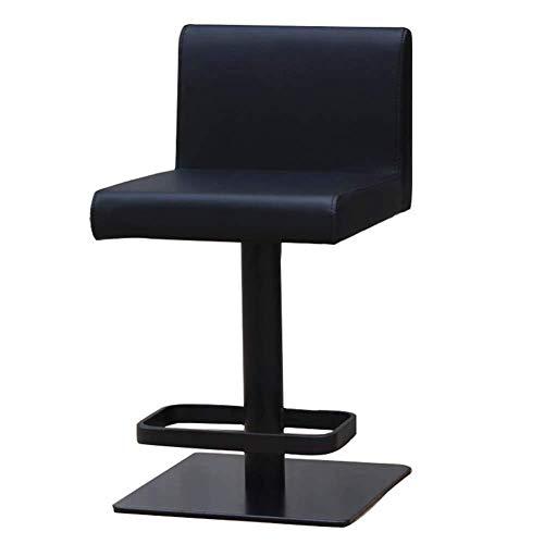 OSALADI vrijetijdsstoel stoelen kruk barkruk barstoel Outdoor familie massief houten tuinkruk en barstoel zwart draaikruk barkruk home kruk stoel sieradenstoel Soft Seat KTV