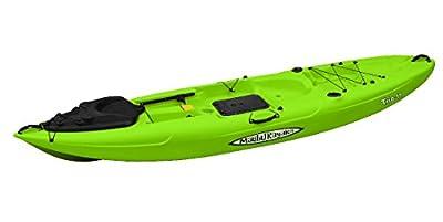 MK11-08-FD Malibu Kayaks Trio-11 Fish and Dive Package Sit on Top Kayak by Malibu Kayaks (Drop Ship)