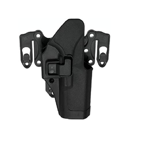 ExcLent Fondina Cintura Mano Destra Per Piattaforma Molle Per Glock 17 18 19 22 23 31 - Nero