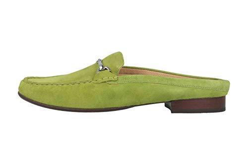 Sioux Cortizia-702 Sabot in Übergrößen Grün 63095 große Damenschuhe, Größe:43
