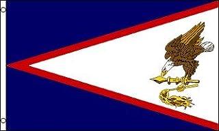 AZ FLAG Bandera de Samoa Americana 90x60cm - Bandera SAMOANA 60 x 90 cm