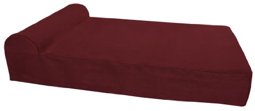 """Big Barker 7"""" Orthopedic Dog Bed with Pillow-Top (Headrest Edition)   Dog Beds Made for Large, Extra Large & XXL Size Dog Breeds   Removable Durable Microfiber Cover   Made in USA"""