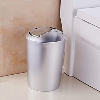 Special/Simple Bathroom European Creative Trash Can Home Living Room Bedroom Kitchen Trash Can Large Small Covered Paper 篓...