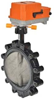 On//Off F6100-300SHP+PRBUP-3-T Butterfly Valve 2 Way w//Non-Spring 24-240V 4 435 Cv