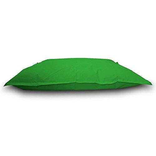 Pouf Beanbag lit Polyester imperméable pour extérieur s 130 x 100 cm Vert