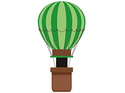 Photocall Globo aerostatico Verde | 0,79 m x 1,52 m | Photocall Ideal para Fiestas | Accesorios de Regalo | Photocall Original