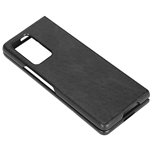 xiji Étui pour téléphone Portable, Housse de Protection pour téléphone Anti-poussière pour Z Fold 2(Le Noir)