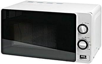 Aro Microondas de 700 W, MW 7720G, temporizador, 800 W de potencia de grill, color blanco