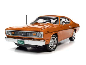 American Muscle 1970 Plymouth Duster 2-Door Coupe (Class of 1970) 1:18 Scale Die-Cast Model Car