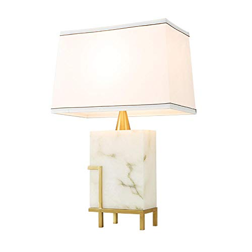 Tafellamp, bedlampje, leeslamp, modern, Chinese stijl, woonkamer dining kamer minimalistisch marmer tafellamp