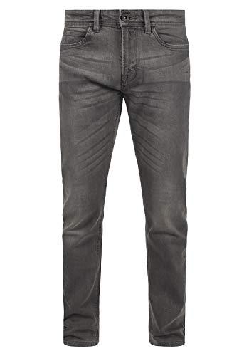 Indicode Quebec Herren Jeans Hose Denim mit Stretch-Anteil Regular Fit, Größe:W38/32, Farbe:Light Grey (901)