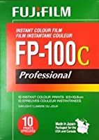 Fujifilm Professional Instant FP-100c, 3.25 x 4.25, 10/PK by Electron Microscopy Sciences