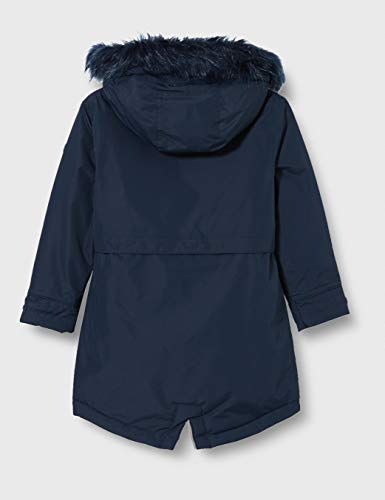 Regatta Kid's Honoria Waterproof Breathable Taped Seams Insulated Lined Hooded Parka Jacket, Navy, 13 yr